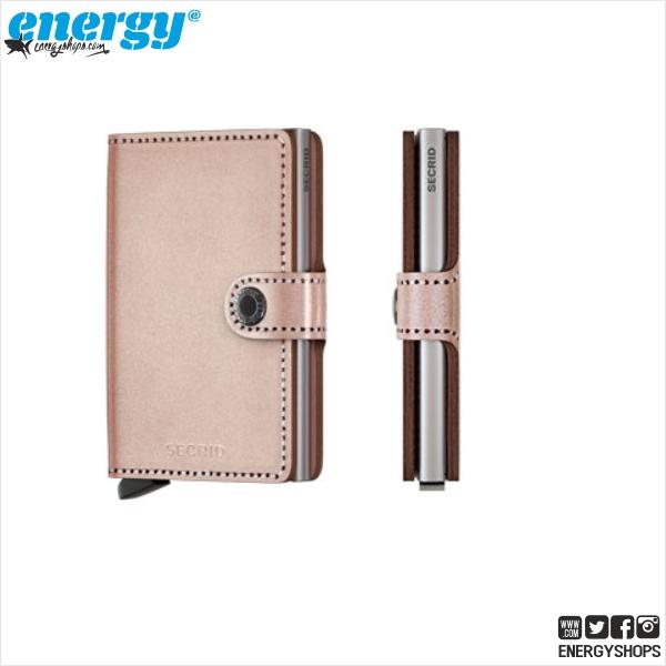 c8ffe22ab13 Secrid Miniwallet Metallic Rose, EnergyShops